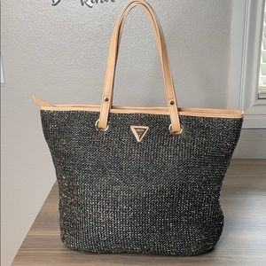 Guess Woven Tote Purse
